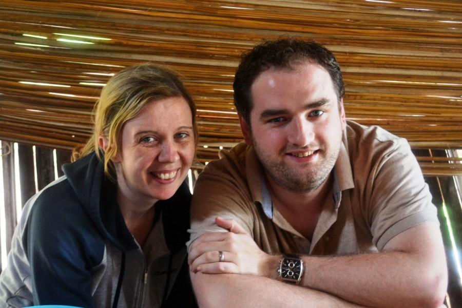 Ian and Sharon