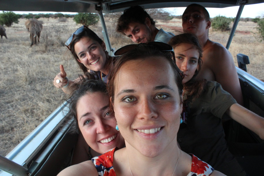 The 'I don't think you're ready for this gelatinous treat' A-Team... aka Sam, Caitlin, Nick, Helen, Sara and Tim