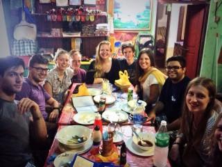 A very happy group of volunteers!