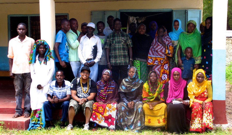 Jibri with the community health workers