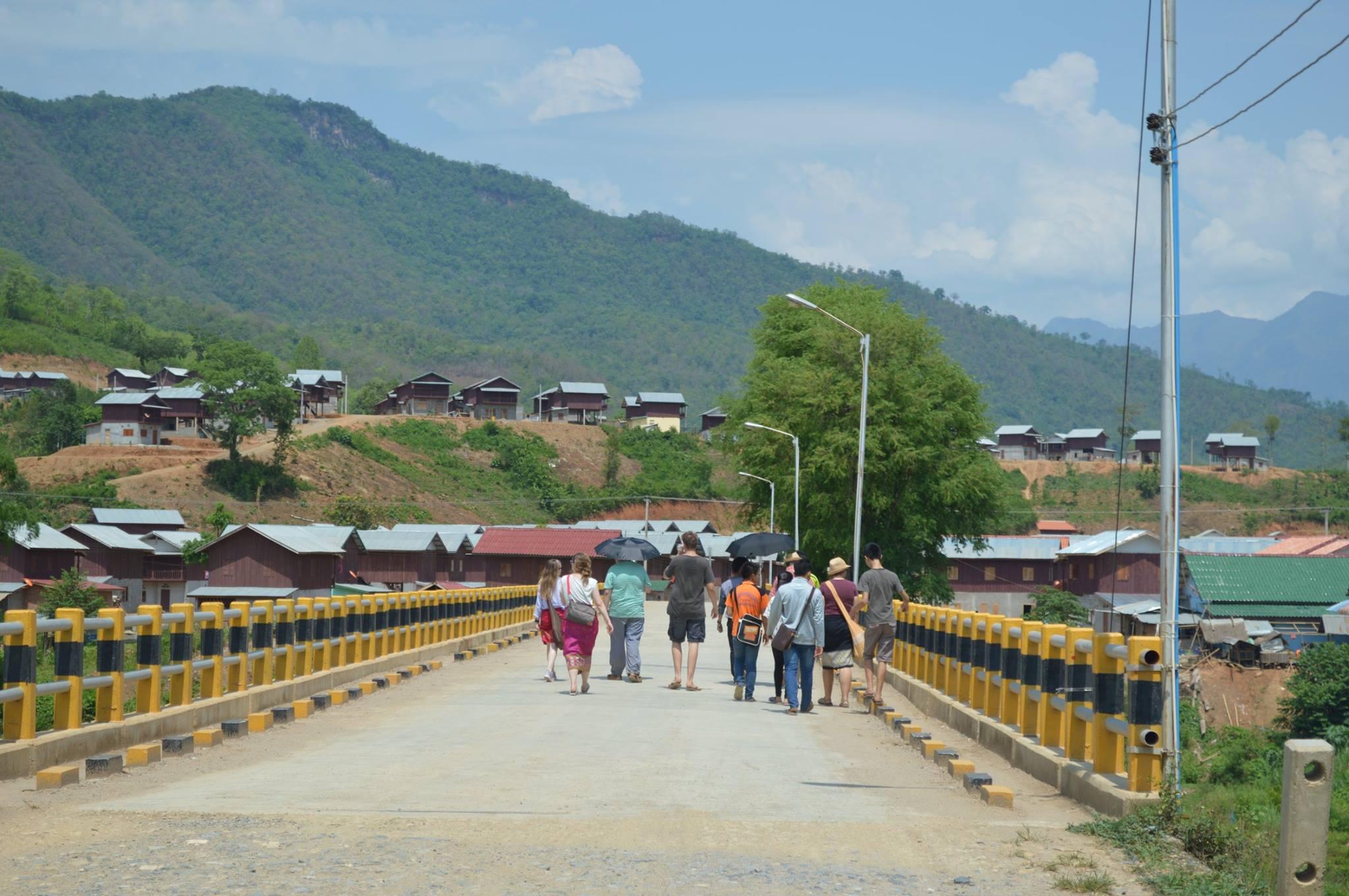 Village visit bridge