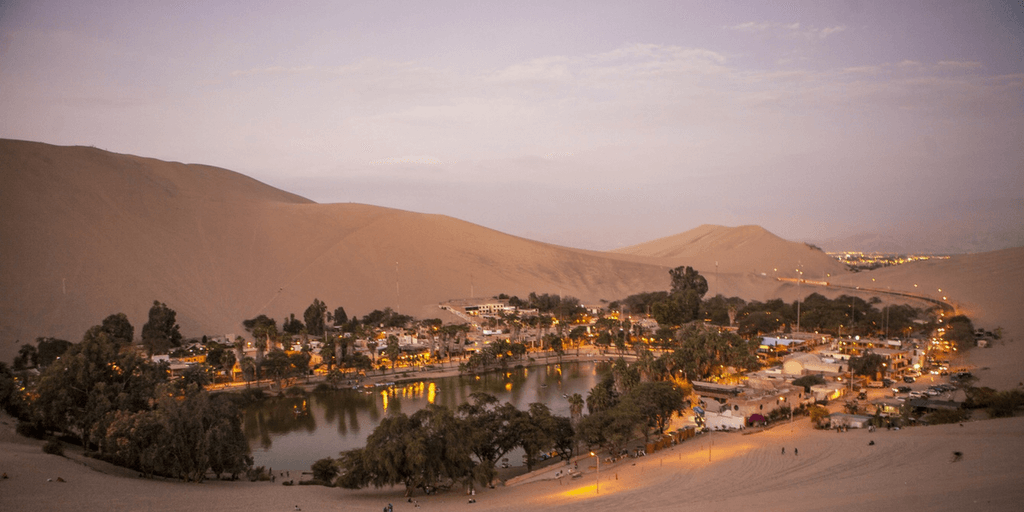 Huacachina to do in peru