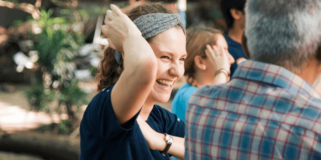 How to be happy   volunteer