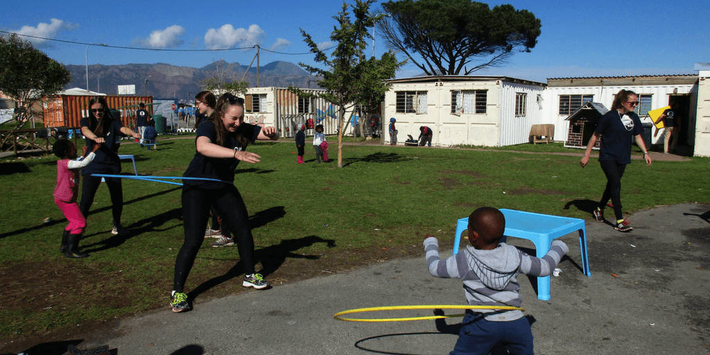 Volunteer With Children In South Africa