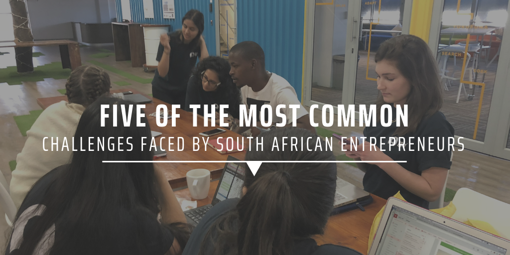 Five of the most common challenges faced by South African entrepreneurs