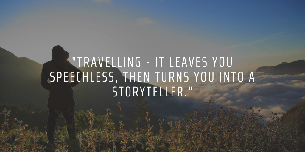 When you travel and volunteer abroad, you'll come back with plenty of new stories to inspire others with
