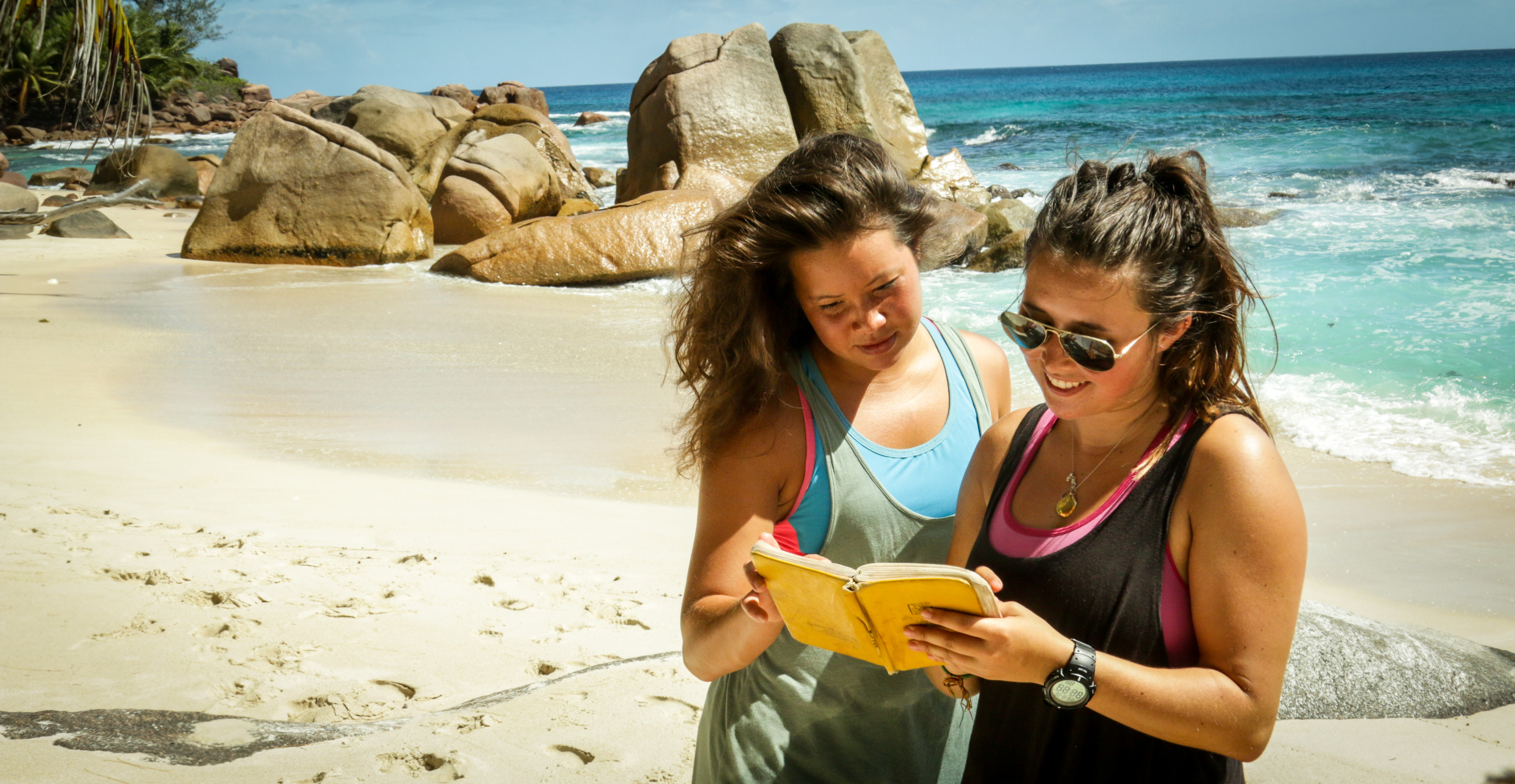 Join a volunteer program abroad during your gap year.