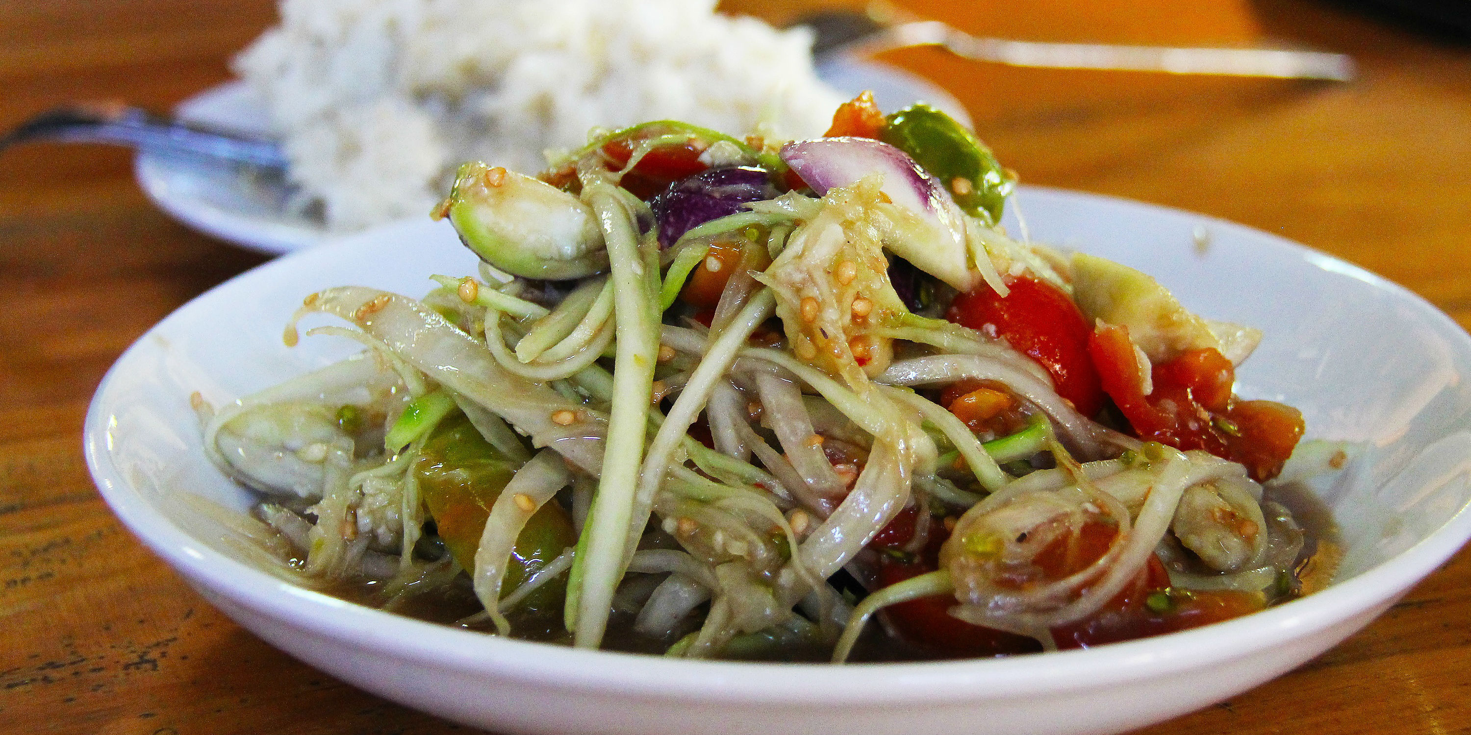 Traditional foods of Laos