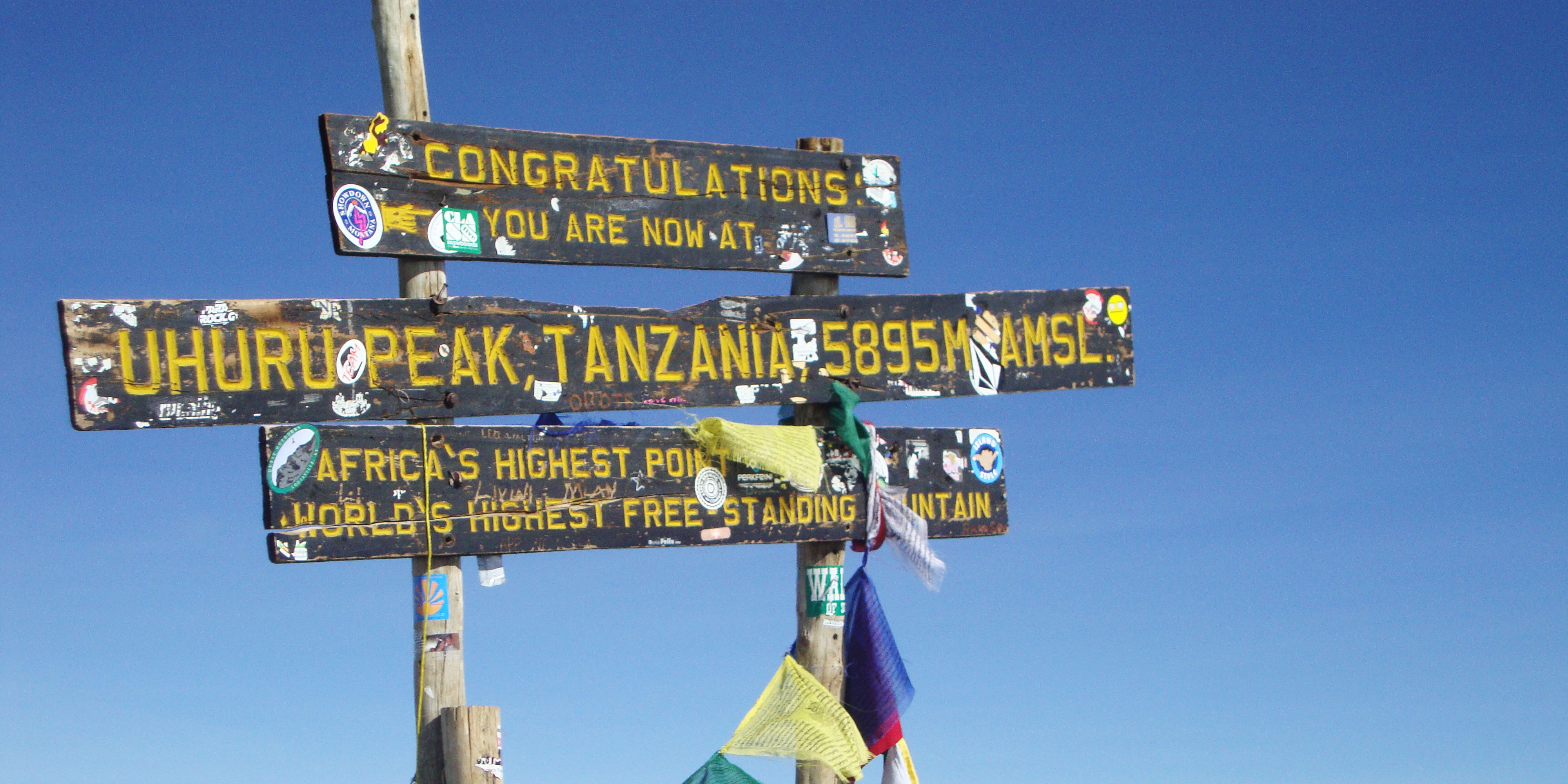 how tall is mount kilimanjaro