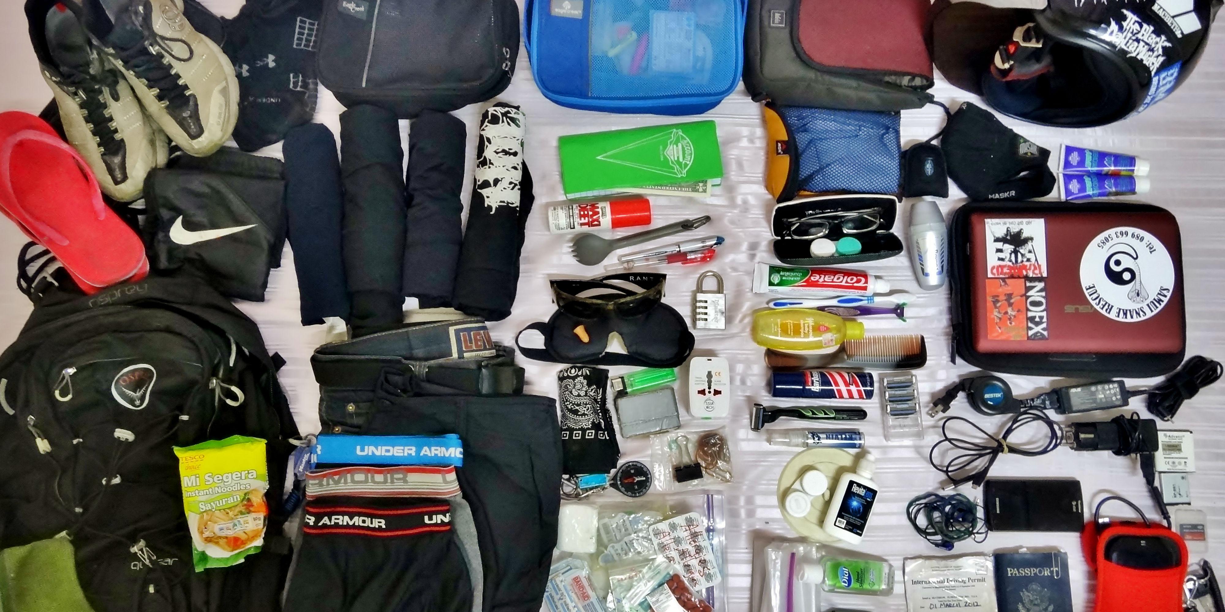 packing list for volunteering