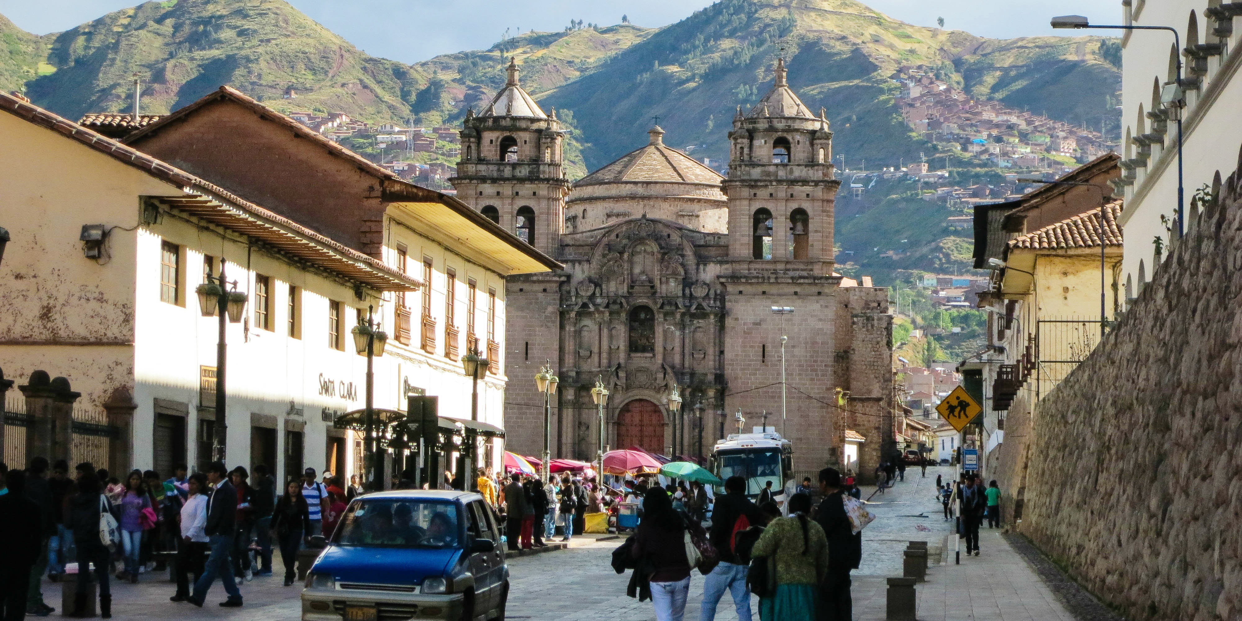 The city of Cusco was declared the capital of the Inca Empire, which helped to spread the quechua language.