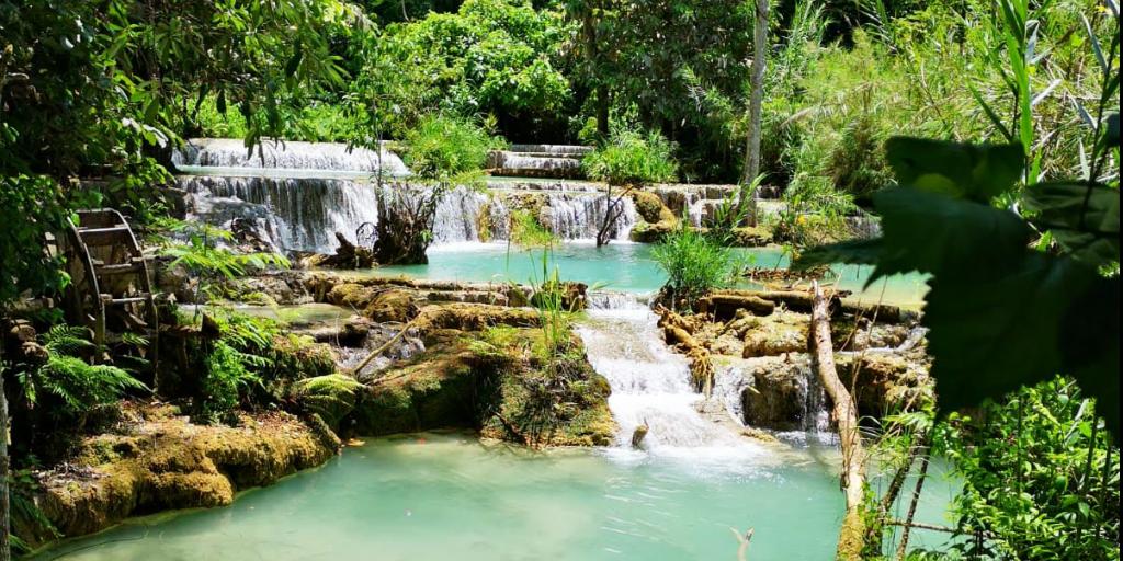 Kuang-Si Falls in northern Laos