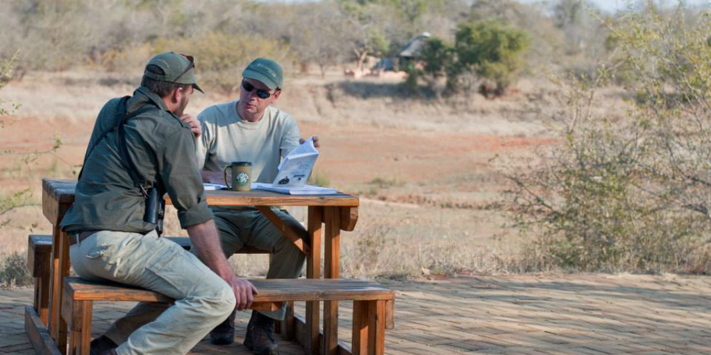 Two field guides work against poaching in south africa