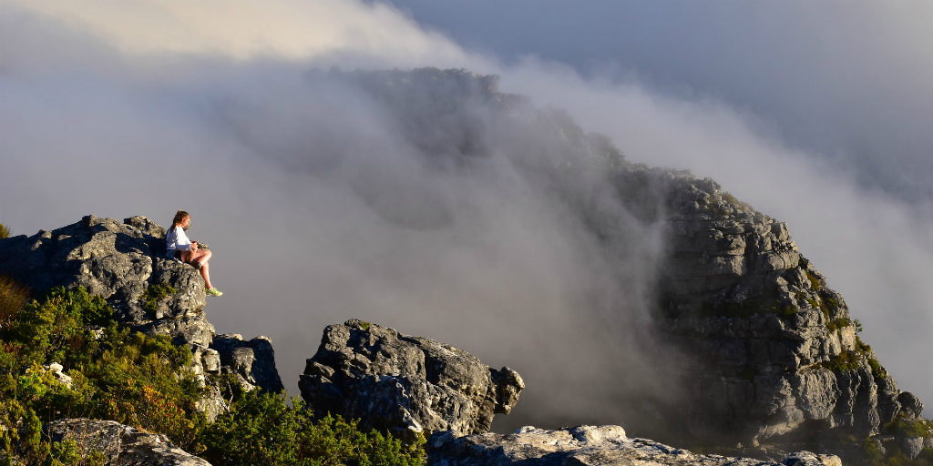 Want to tick climbing a mountain off your travel bucket list? Climb up the iconic Table Mountain in Cape Town!