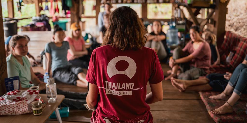 A GVI volunteer in Thailand