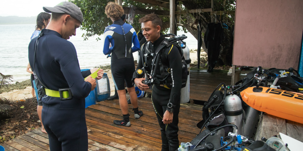 There are seven PADI certification levels to choose from when looking to become a diver