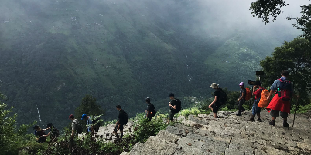 Make an impact and experience trekking in Nepal on this volunteer abroad program for under-18s