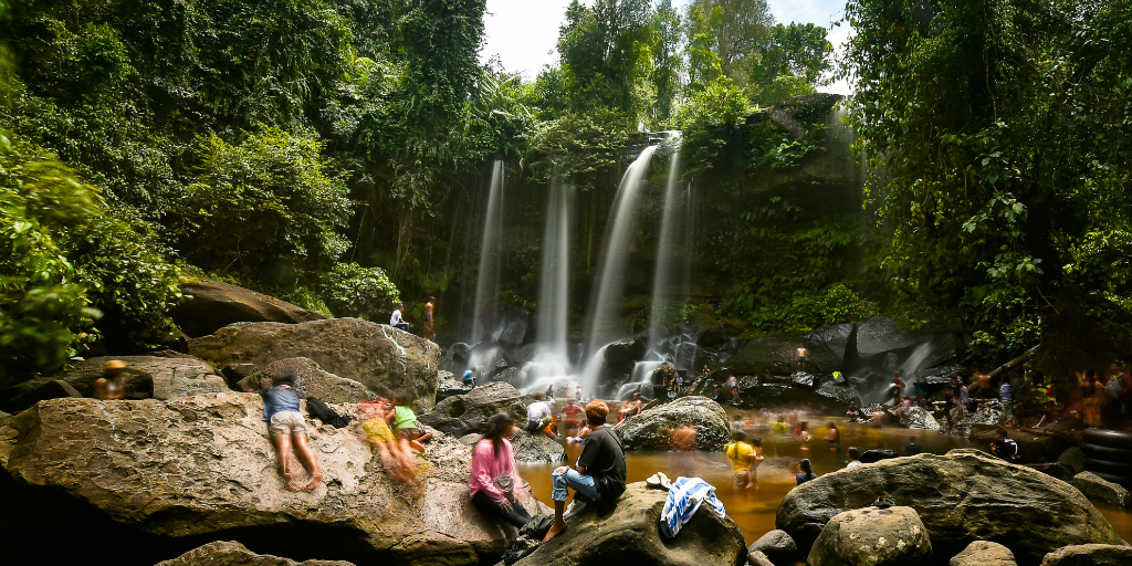 Looking for things to do in Siem Reap? Why not trek to the Phnom Kulen Waterfall