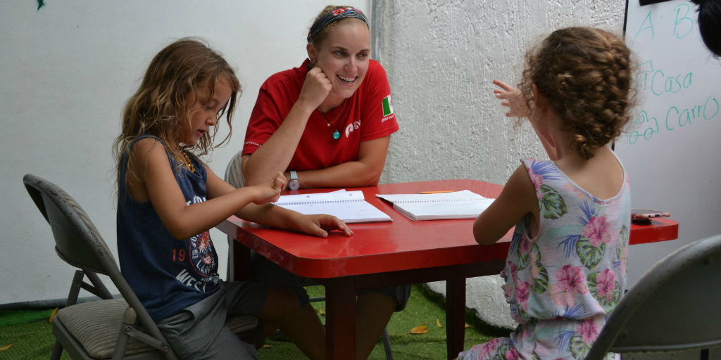 Teacher on a volunteer and travel trip in Mexico