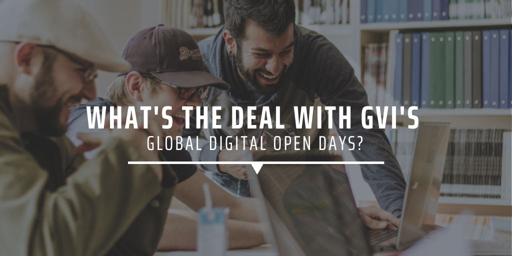What's the deal with GVI's Global Digital Open Days