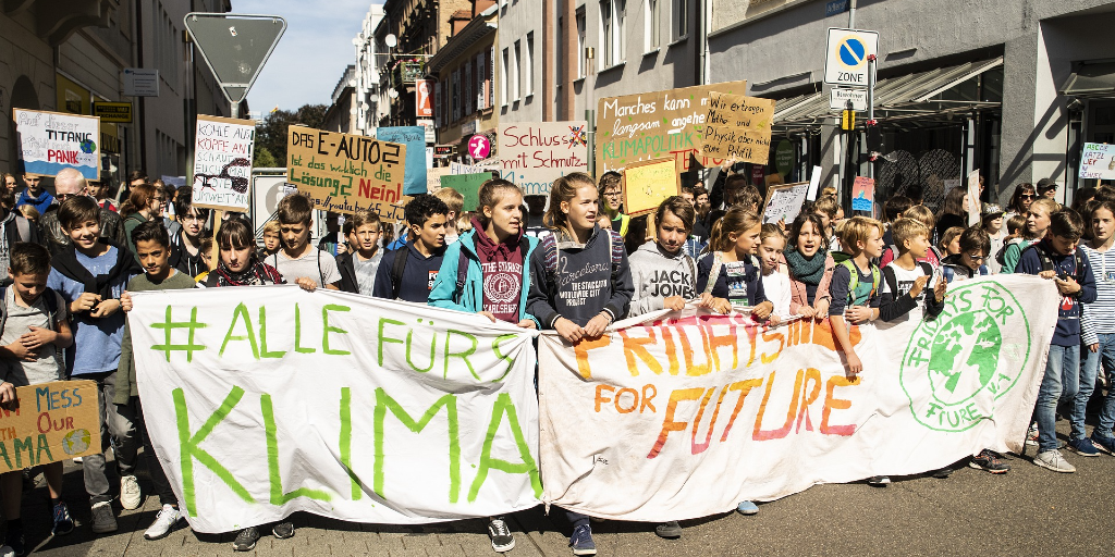 Scool strikes for climate action